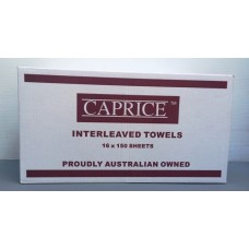 Interleaved Towel 24cm x 24cm - CALL STORE FOR PRICES