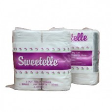 Sweetelle Toilet Paper 2 Ply - CALL STORE FOR PRICES